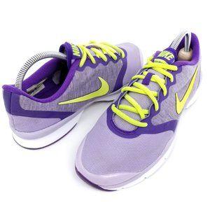 Nike Training Purple Neon Green Running Shoes 7